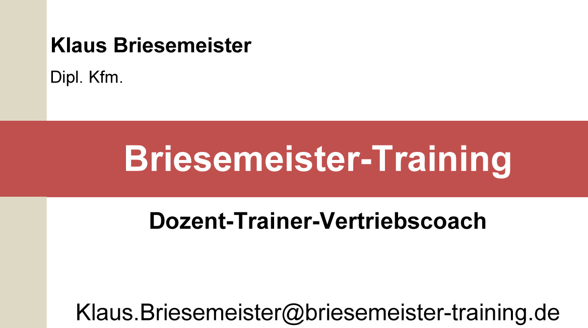 Briesemeister-Training
